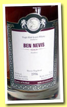 Ben Nevis 1996/2012 (53.1%, Malts of Scotland, sherry hogshead, cask #MoS 12054, 270 bottles)