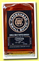 Clynelish 17 yo 1995/2013 (57.3%, Cadenhead, small batch, sherry butt, 588 bottles)
