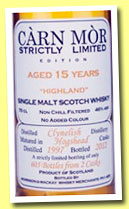 Clynelish 15 yo 1997/2012 (46%, Carn Mor, Strictly Limited, 605 bottles)