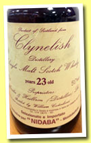 Clynelish 23 yo 1966/1989 (51.7%, Cadenhead for Nibada, 90 bottles)