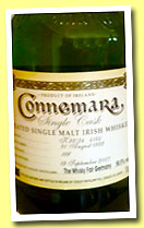 Connemara 15 yo 1992/2007 (50.5%, OB for Whisky Fair Limburg, bourbon barrel)