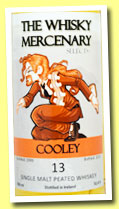 Cooley 13 yo 1999/2013 (51.4%, The Whisky Mercenary)