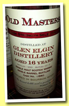 Glen Elgin 16 yo 1995/2012 (56.4%, James MacArthur, Old Masters, bourbon, cask #1660)