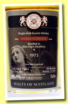 Glen Elgin 1975/2011 (46.8%, Malts of Scotland, Angel's Choice, bourbon hogshead, cask #11024, 47 bottles)