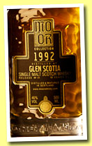 Glen Scotia 18 yo 1992/2010 (46%, Mo Òr Collection, first fill sherry butt, cask #6, 1076 bottles)