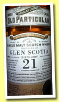 Glen Scotia 21 yo 1992/2013 (51.5%, Douglas Laing, Old Particular, refill barrel, ref DL9903, 240 bottles)