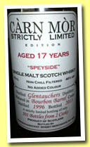 Glentauchers 17 yo 1996/2013 (46%, Càrn Mor, Strictly Limited, bourbon barrels, 501 bottles)
