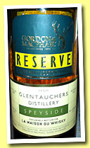 Glentauchers 1998/2013 (46%, Gordon & MacPhail Reserve for La Maison du Whisky, cask #2413, 317 bottles)