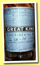 Great King St. 'Experimental Batch TR-06' (43%, Compass Box, blend, 3805 bottles, 2013)