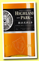 Highland Park 'Harald' (40%, OB, travel retail, 70cl, 2013)