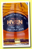 Spirit of Hven Seven Stars No.1 (45%, OB, Dubhe Single Malt Whisky, Sweden, +/-2013)