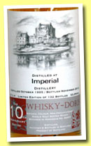 Imperial 17 yo 1995/2012 (53%, Whisky-Doris, 10th Anniversary, hogshead, 132 bottles)