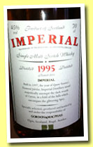 Imperial 1995/2013 (45%, Gordon & MacPhail for La Maison du Whisky, first fill sherry butt, cask #4887)