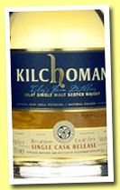 Kilchoman 2007/2010 (62.2%, OB for Feis Ile 2010, bourbon, cask #11307, 258 bottles)