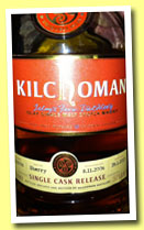 Kilchoman 2006/2013 (59.2%, OB for World of Whisky, sherry, cask #372/2006)