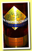Laggan Mill 'The Secret Islay' (56%, The Coopers Choice, sherry, cask #9466, 320 bottles, 2013)