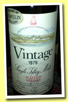 Lagavulin 1979/1992 'Vintage' (43%, Vintage Malt Whisky Co, for Auxil, France)