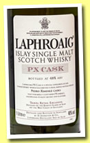Laphroaig 'PX Cask' (48%, OB, travel retail, 100cl, 2013)