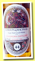 Longmorn 44 yo 1966/2011 (43.1%, Gordon & MacPhail for Limburg, Book of Kells, refill sherry hogshead, cask #281)