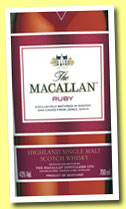 Macallan 'Ruby' (43%, OB, 1824 series, +/-2013)