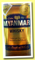 Myanmar Whisky 'Gold Quality - An Excellent Whisky' (40%, OB, whisky, Myanmar Group Company Ltd, +/-2013)