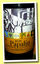 Papalin (42.9%, Velier, blended rum, 2013)
