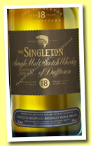 Singleton of Dufftown 18 yo (40%, OB, +/-2013)