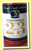Strathmill 23 yo 1990/2013 (51.3%, Single Cask Collection, sherry butt)
