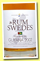 Guyana 2002/2013 (61%, The Rum Swedes, 245 bottles)