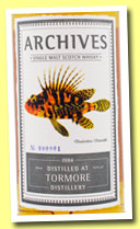Tormore 29 yo 1984/2013 (51%, Archives, barrel, cask #3669, 90 bottles)
