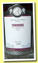 Tormore 1988/2012 (55.4%, Malts of Scotland, sherry butt, cask #MoS 12043)