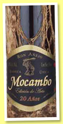 Mocambo 20 yo (40%, OB, Mexico, Art Edition, barrica unica #106, +/-2014)